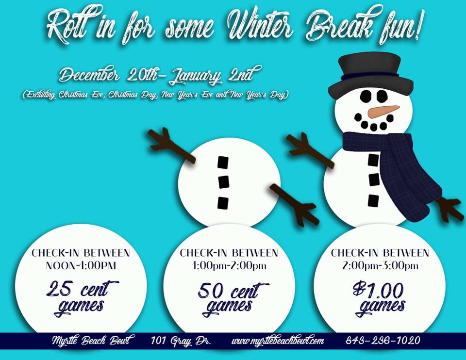 Winter Break Fun Special